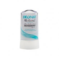 Минеральный дезодорант   ЧИСТЫЙ ЦЕЛЬНЫЙ    овальный кристалл   60g DeoNat
