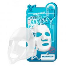 Тканевая маска для лица с гиалуроновой кислотой   Deep Power Ringer Mask Pack Aqua   Elizavecca