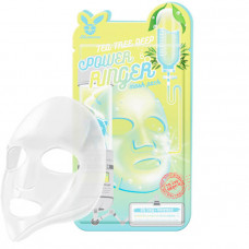 Тканевая маска с экстрактом чайного дерева   Deep Power Ringer Mask Pack Tea Tree  Elizavecca