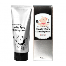 Пенка-маска для умывания  ЧЕРНАЯ   Milky Piggy Elastic Pore Cleansing Foam   Elizavecca